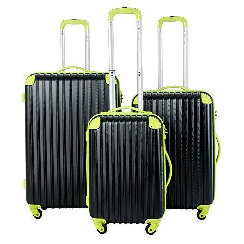 Travelhouse Hard Shell Travel Luggage Set of 3 (20/24/28 inch) TSA Locks Lightweight suitcase On Wheels Holdall - http://handbags.kindle-free-books.com/travelhouse-hard-shell-travel-luggage-set-of-3-202428-inch-tsa-locks-lightweight-suitcase-on-wheels-holdall/