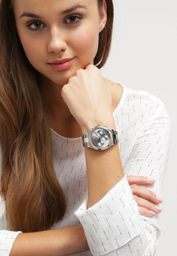 #Dkny pars cronografo silberfarben/grau Argento  ad Euro 220.00 in #Dkny #Donna borseaccessori orologi