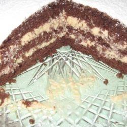 Шоколадный торт-бизе! Нежный воздушный шоколадный торт