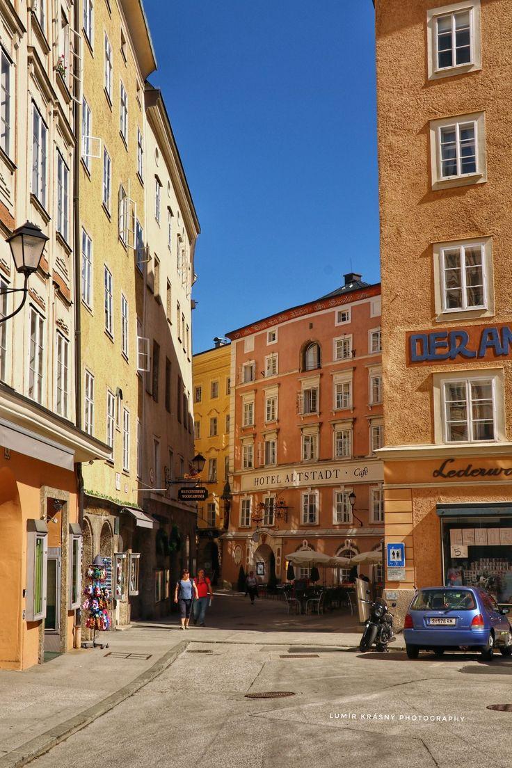 Ulička v Salzburgu  Foto: k.lumir@seznam