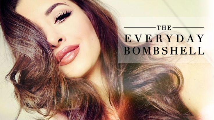 Everyday Bombshell Makeup Tutorial using the Naked Basics palette!