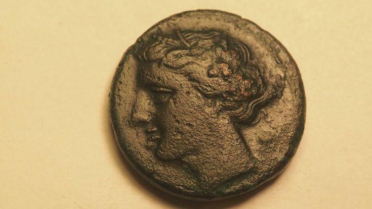 Monnaie antique grecque:SICILE SYRACUSE AGATHOCLES -317-289  av J.-C.Bronze