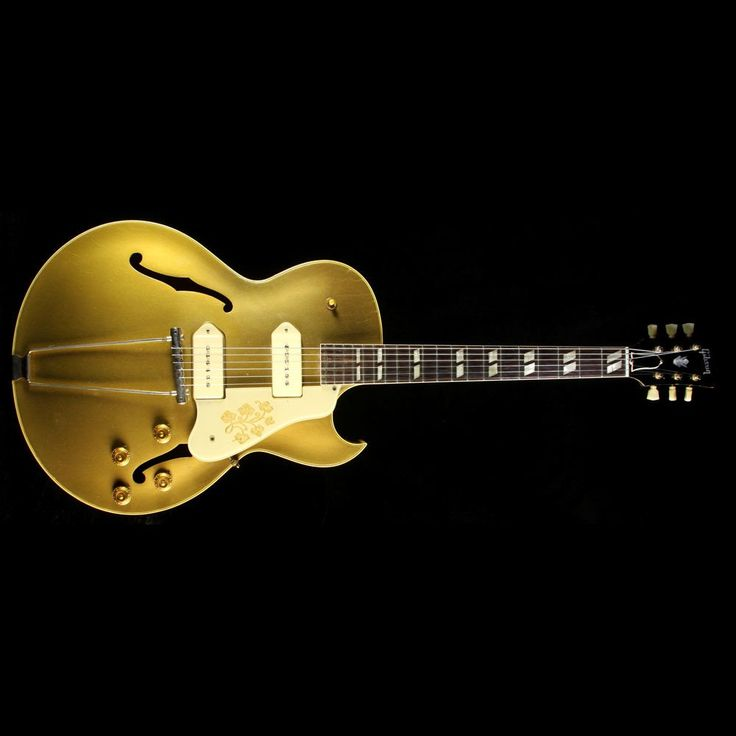 Used 1956 Gibson ES-295 Archtop Electric Guitar Gold