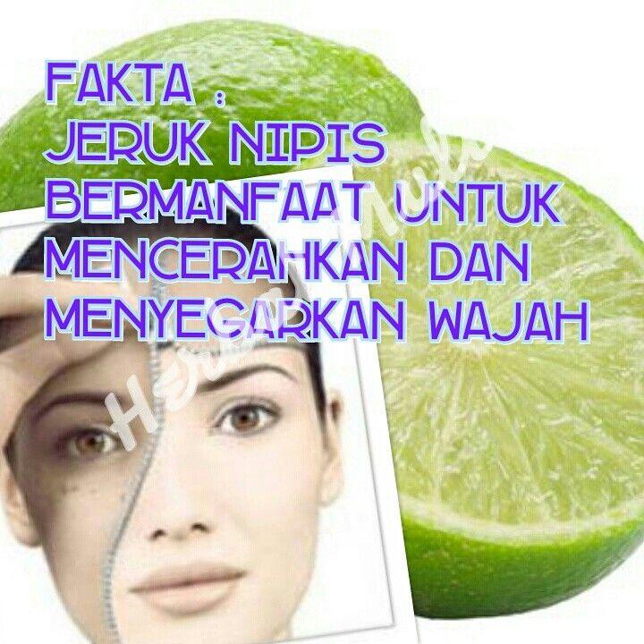 manfaat jeruk nipis dapat digunakan untuk menyegarkan wajah herbalmulia.com