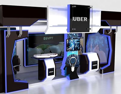 """Check out new work on my @Behance portfolio: """"Uber Egypt booth"""" http://be.net/gallery/59990869/Uber-Egypt-booth"""