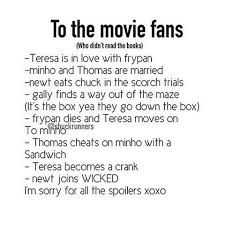 This is great... Like it says sorry if it spoils, this is stuff only the book fans would get!
