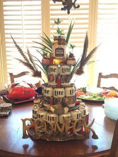 Scott's Beer Cake   #miller lite #cammo #hunting #moonshine