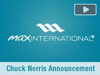 Max International and Chuck Norris!