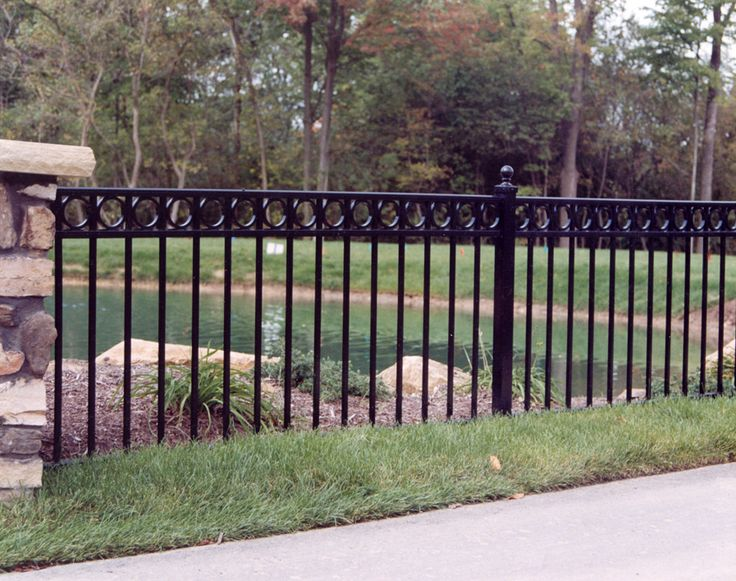 64 Best Aluminum Fencing Images On Pinterest Aluminum