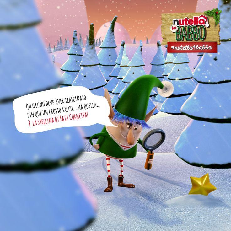 Chi ha preso la #Nutella di #Babbo? Elfo Spalmino trova il primo indizio nel bosco… Durante le indagini aiutate Babbo a recuperare il suo entusiasmo! Scoprite come su http://www.nutella4babbo.it/