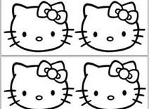 hello kitty diy party printables bing images