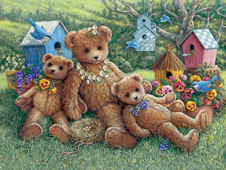 Janet Kruskamp #Kruskamp #teddy #bear #teddies #bears #cozy