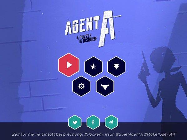 """Kinder-App """"Agent A"""": Agent spielen in der Rästel App für ältere Kinder und Erwachsene"""