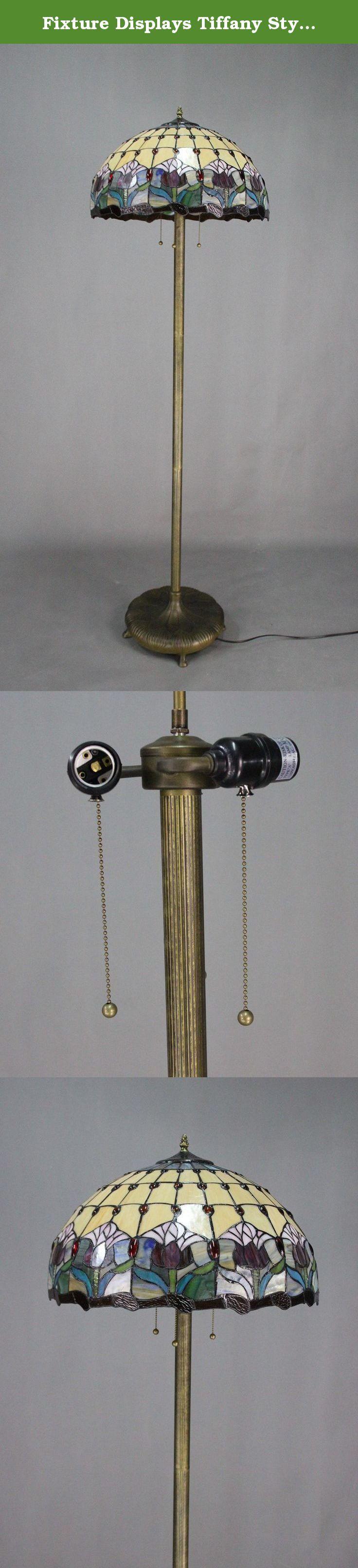 Fixture Displays Tiffany Style Elegant Floor Lamp 20-Inch Shade 16059. Fixture Displays Tiffany Style Elegant Floor Lamp 20-Inch Shade 16059.