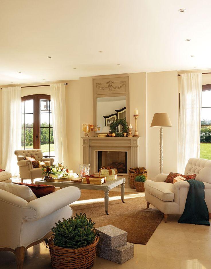 Una casa de Navidad para disfrutar en familia · ElMueble.com · Casas salón