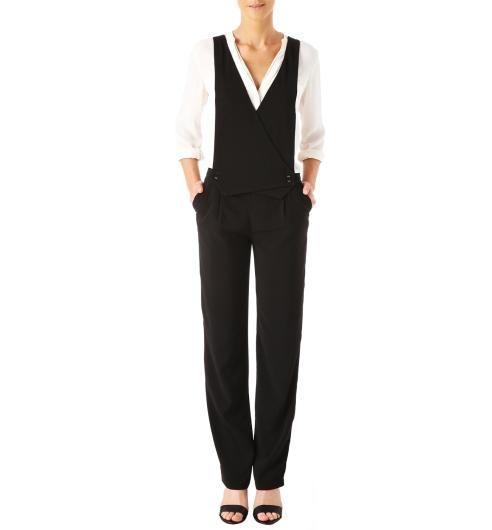 Pantalon-salopette+Femme                                                                                                                                                                                 Plus