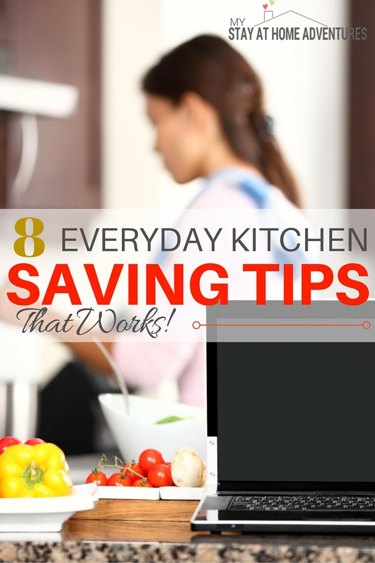 8 Simple Everyday Kitchen Saving Tips That Works! - With these simple kitchen saving tips spend less time in the kitchen and more time with the people that matter the most, your family!