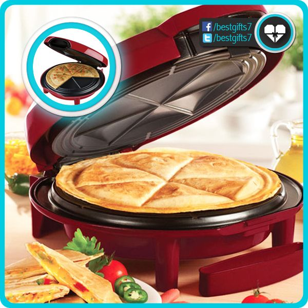 QUESADILLA MAKER - [AWESOME!]  Buy online = http://amzn.to/1n7dyX3 [like 'n share!]
