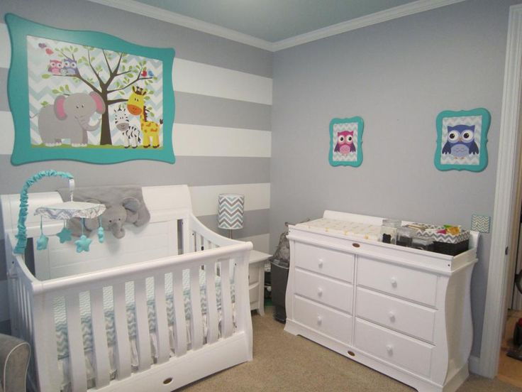gender neutral nursery inspiration - Baby Room Ideas Unisex