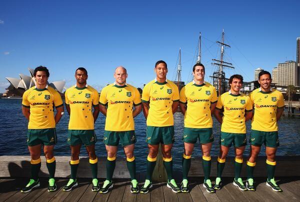 On Rugby Foto del giorno: presentata la nuova maglia dell'Australia » On Rugby