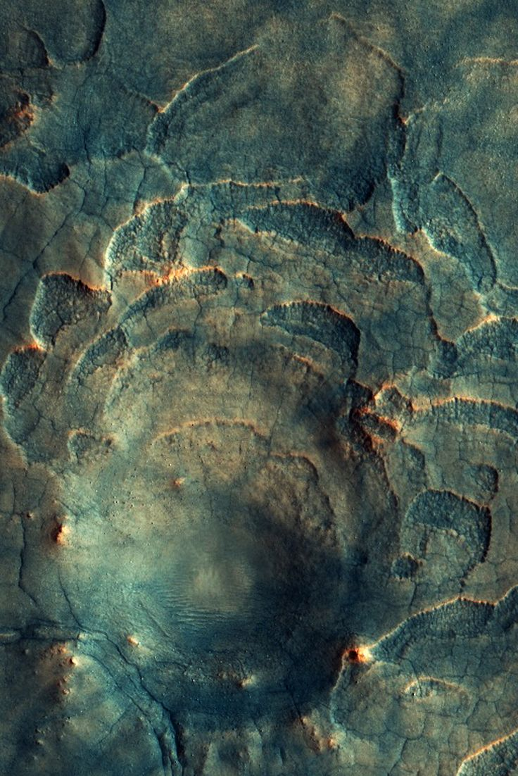 Infinity Imagined: patterns on Mars