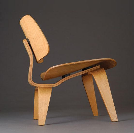 ray charles eames lcw lounge chair wood 1945 made