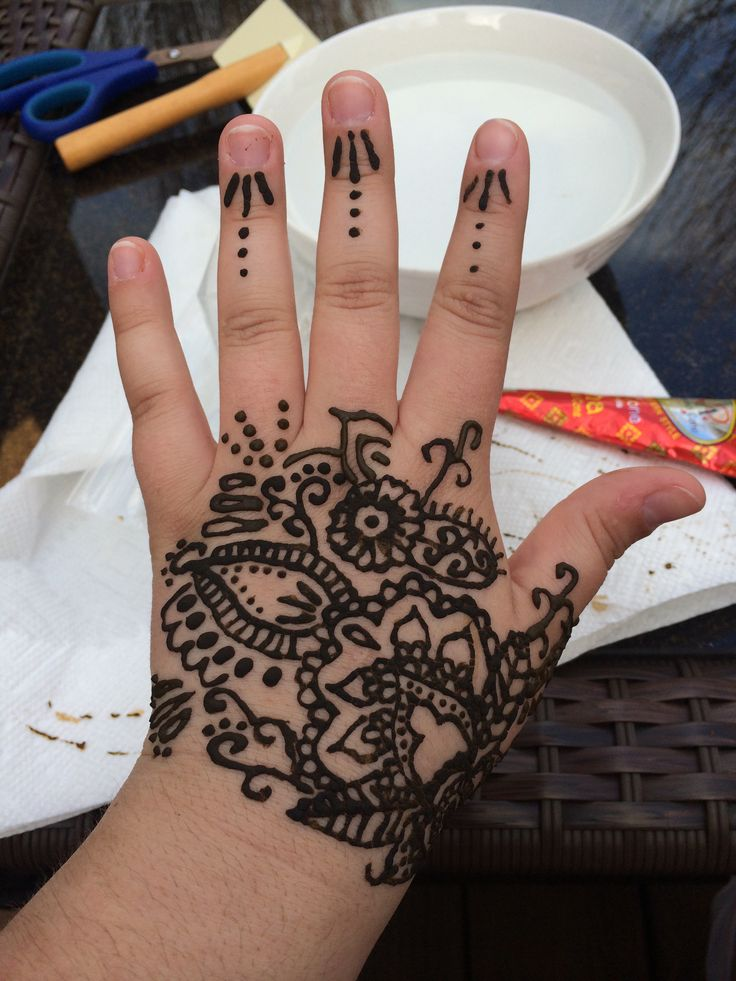 Henna Design by yours truly