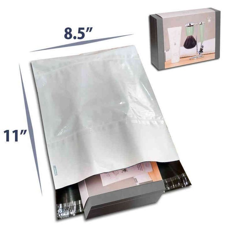 8.5 x 11 Tamper Proof Mailing Bags for Materials Packaging