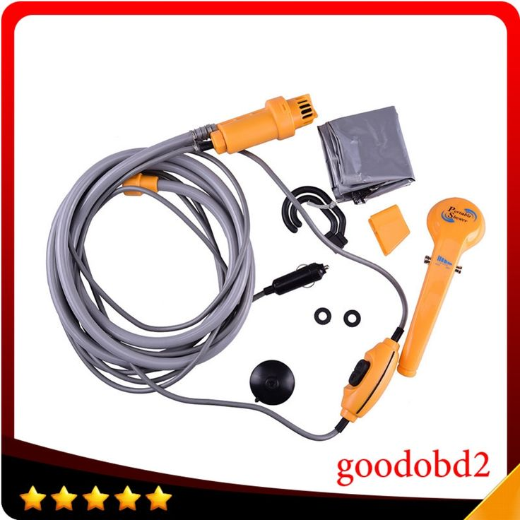 57.12$  Watch now - http://alip7k.worldwells.pw/go.php?t=32687386247 - Car Accessories 12V Portable Car Washer Outdoor Camping Travel Car Shower Pet Dog Shower Motorcycle Spa Wash Kit 57.12$