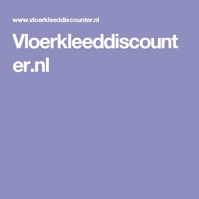 Vloerkleeddiscounter.nl