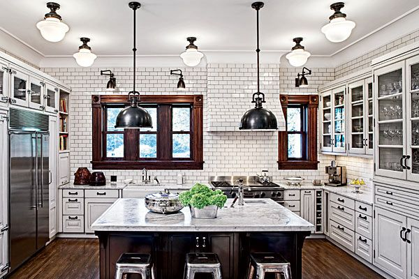 "Chicago magazine says: ""A Victorian home gets the kitchen and breakfast room it long deserved"""