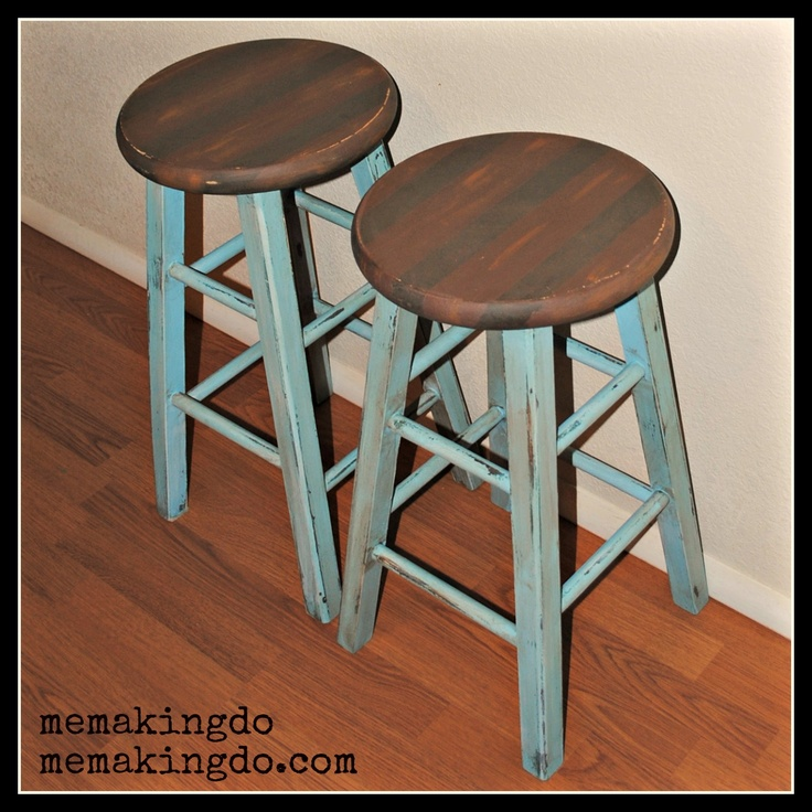 17 Best Ideas About Bar Stool Makeover On Pinterest