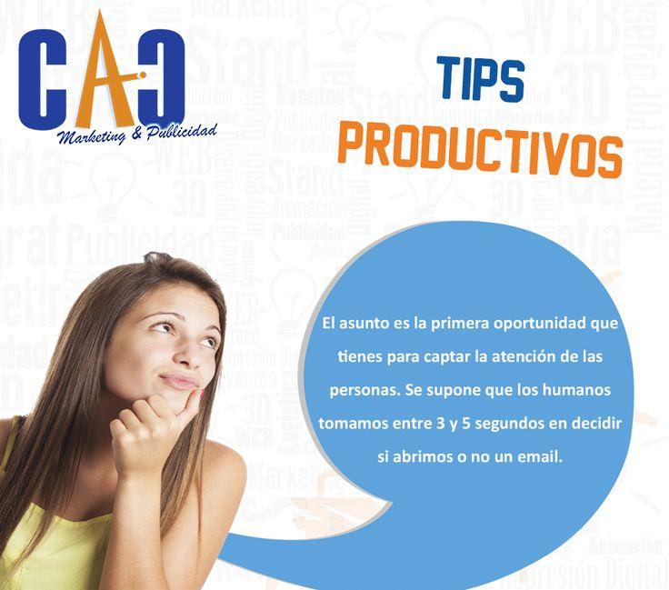 Un consejo bastante útil para tenerlo en cuenta. CAC Marketing & Publicidad. #Mailing