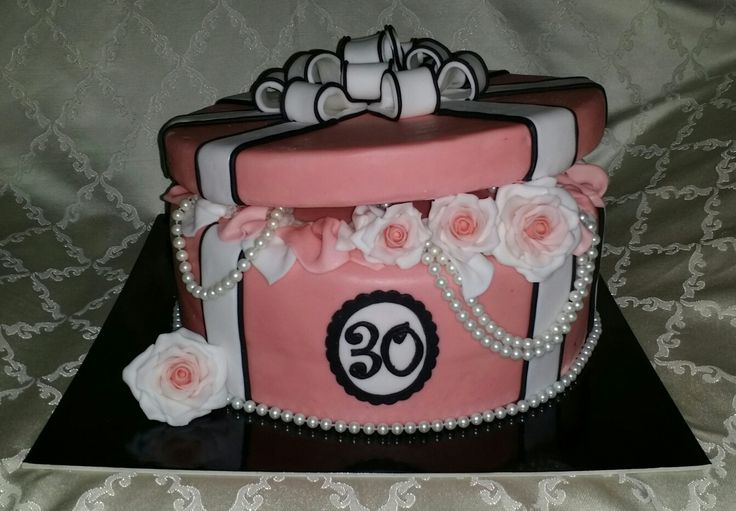 Pacco regalo. Gift cake