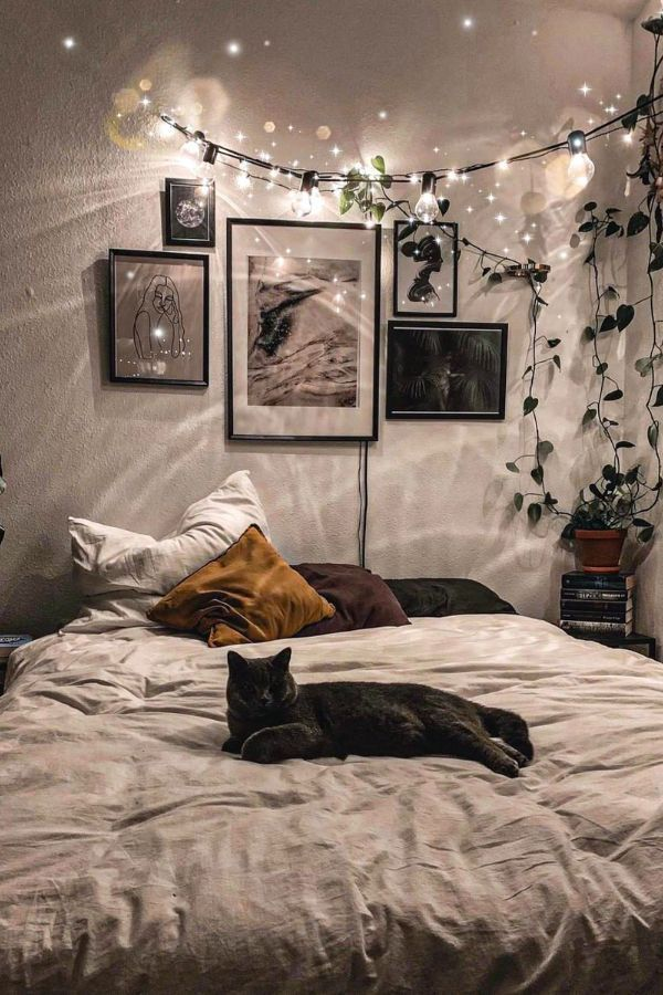 49 Beautiful Aesthetic Bedroom Design Ideas For Your Home Part 21 49 Beau In 2021 Aesthetic Bedroom Aesthetic Bedroom Minimalist Aesthetic Bedroom Ideas Small Spaces