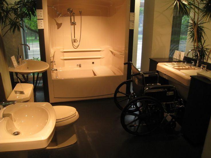 Handicap Bathroom Vine 26 besten handicap bathrooms bilder auf pinterest