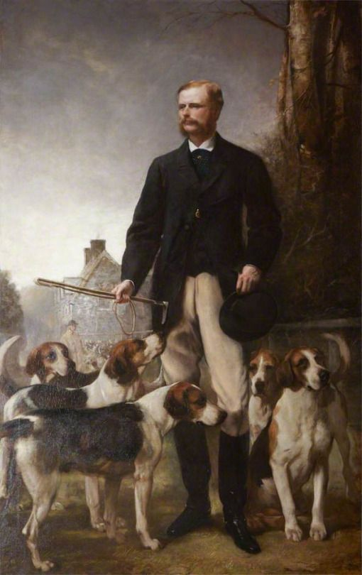 Henry Richard Graves (British, 1818-1880) : The Honourable Mark George Rolle, 1871. Barnstaple Town Council, Devon, England.