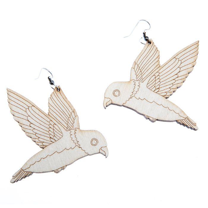 FLYING BIRD EARRINGS