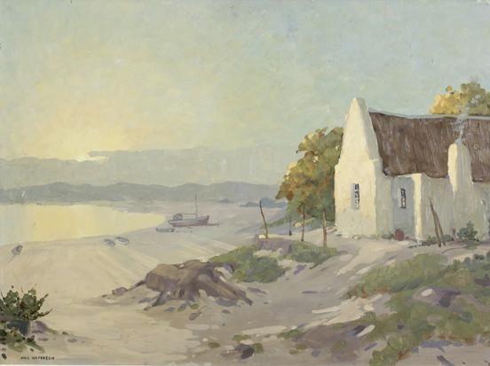 Fisherman's cottage, Saldanha by Nils Severin Andersen