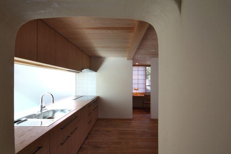 japanese residence, kichen, キッチン