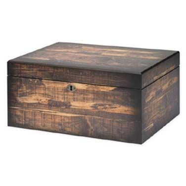 The Adirondack Cigar Humidor. Cool looking humidor for cigar storage.