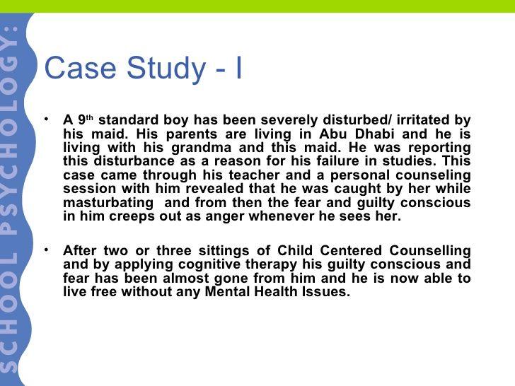 Psychology Case Study Examples In 2021 Case Study School Psychology Psychology