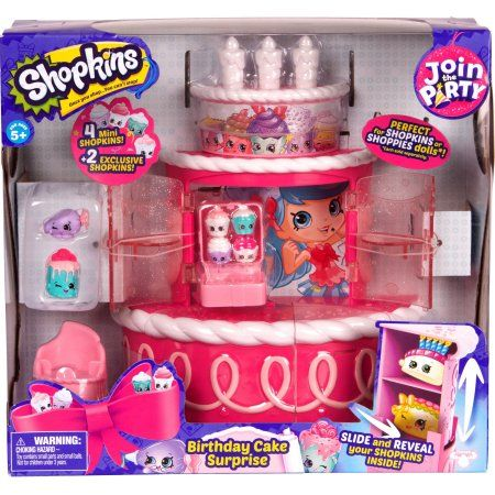 SHOPKINS S7 PLAYSET - CAKE STAND