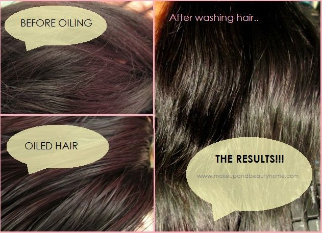 Hot Oil Treatment For Hair Photo Tutorial Results Care