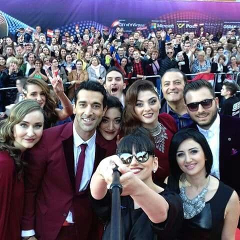 Genealogy #Selfie #ArmenianDiaspora #eurovision #armenia #gohargasparyan #ingaarshakyan #vahetilbian #essaialtounian #stephanietopalian #tamarkaprelian #maryjeanodoherty #varduhialexanyan #rudiktergalstyan #Vienna