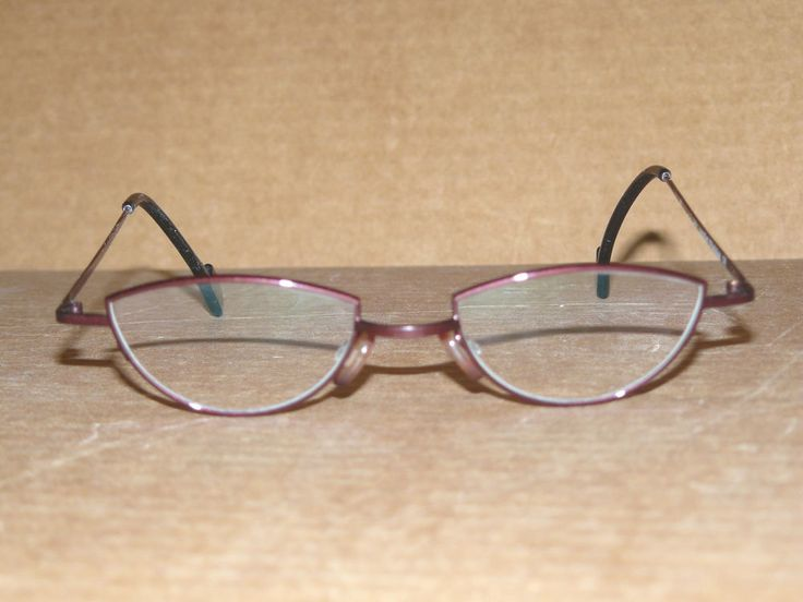 "THEO ""Castafiori"" purple titanium eyeglass frames - NEW fashion Made in Belgium #Oval"