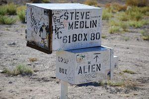 The Black Mailbox