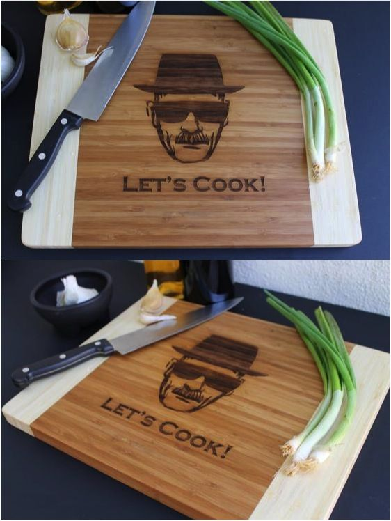 Calling all Breaking Bad fans! Ever wanted to cook with Heisenberg? Now you can!! | Made on Hatch.co by independent makers