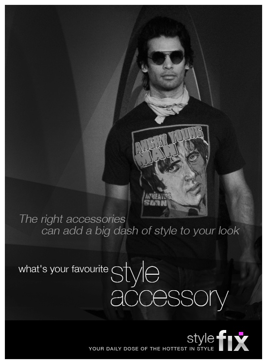 The right accessories can add a big dash of style to your look. Sunglasses, watches, scarves, jewellery, or something else ... what's your favourite accessory?