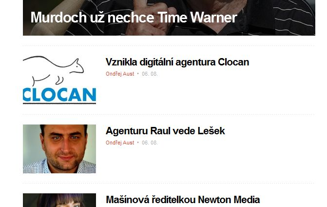 Zmínka o clocan.cz na Mediáři http://www.mediar.cz/vznikla-online-agentura-clocan/